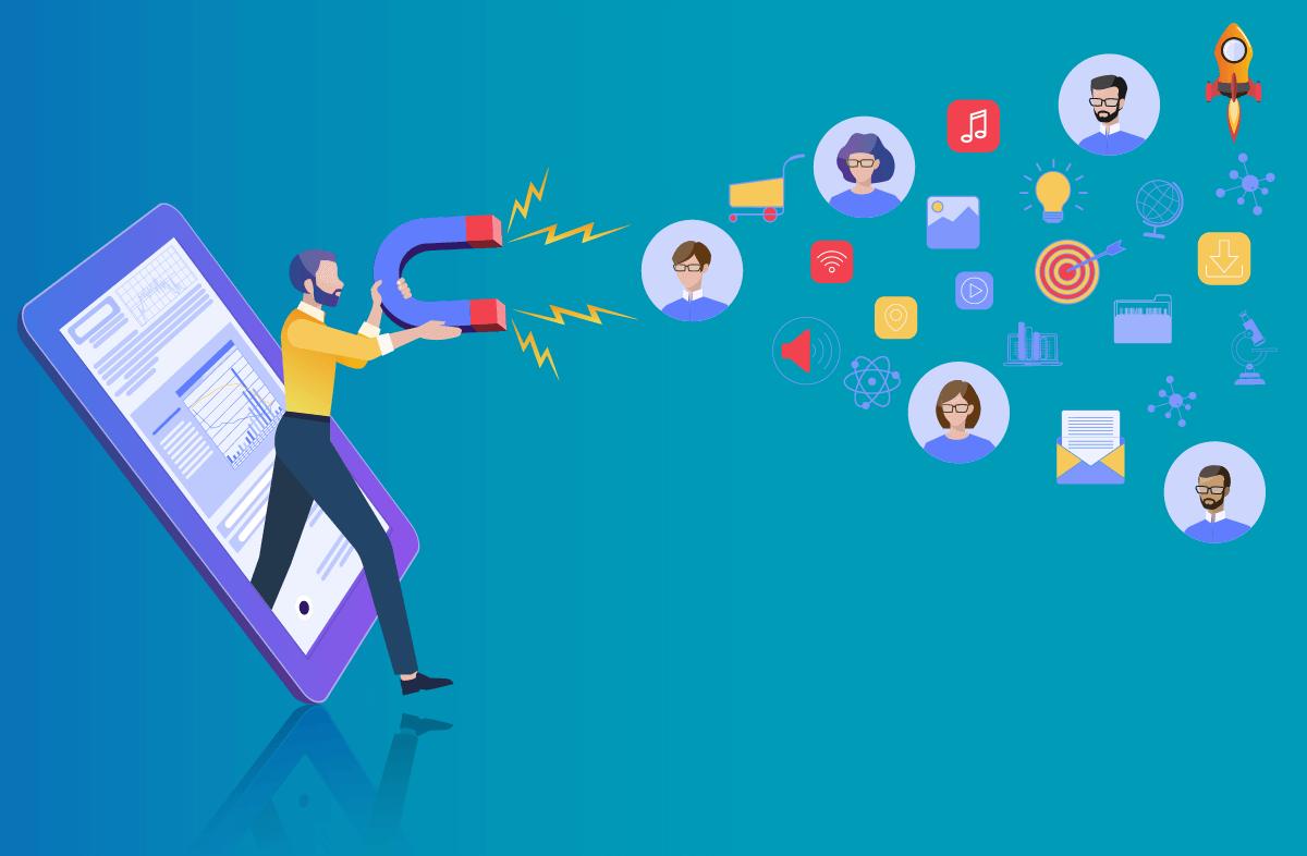 Creación de contenido y ads